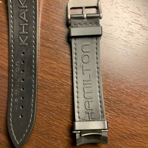 Hamilton Accessories - COPY - Hamilton watch band for Navy GMT